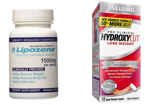 Hydroxycut vs Lipozene