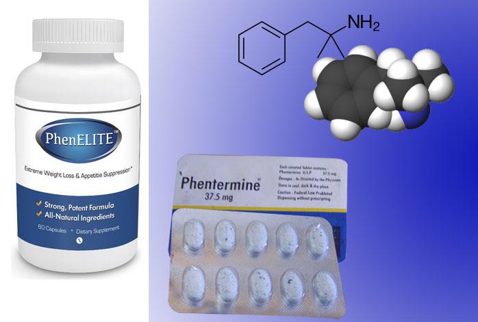 PhenELITE vs Phentermine