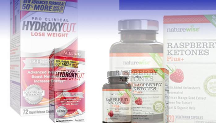 Raspberry Ketones vs Hydroxycut
