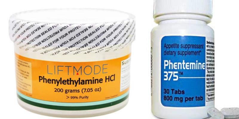 phenylethylamine-hcl-vs-phentermine-1