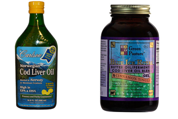 Carlsons COD Liver Oil vs Green Pastures
