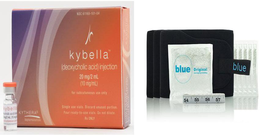 Coolsculpting vs Kybella