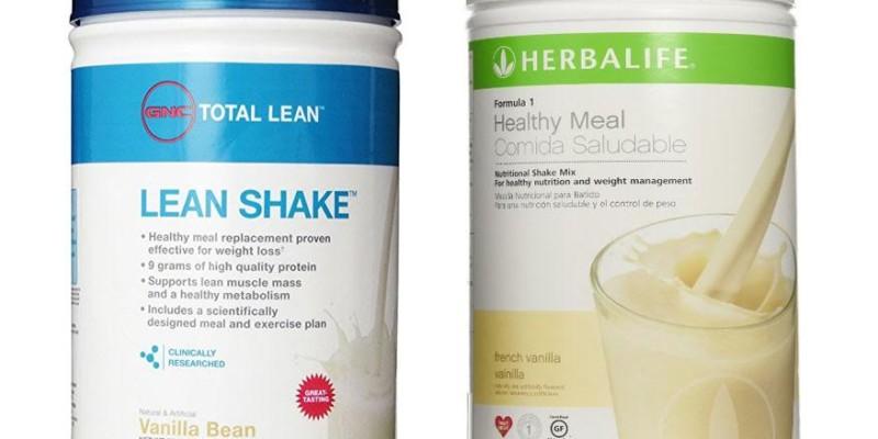 GNC Total Lean Shake vs Herbalife