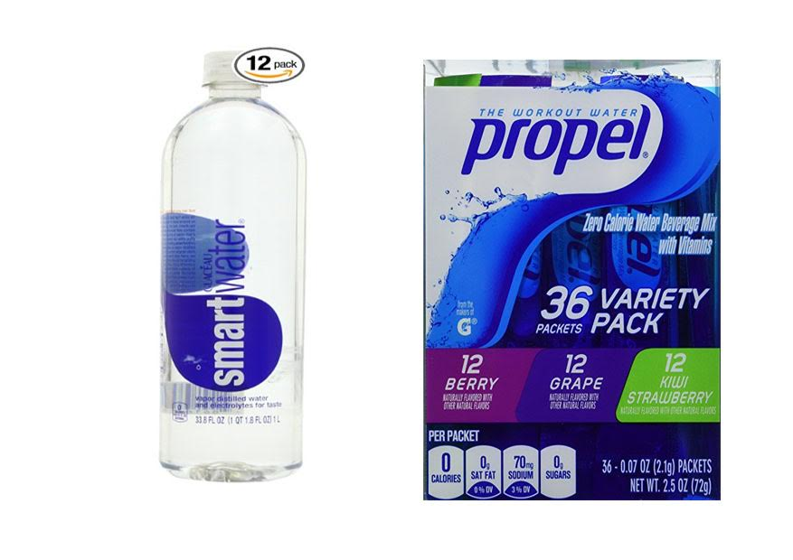Smart Water vs Propel