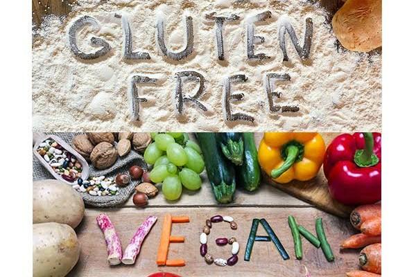 Gluten Free vs Vegan
