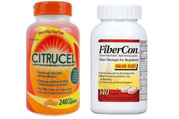 Citrucel vs FiberCon