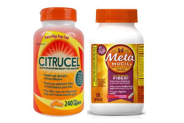 Citrucel vs Metamucil