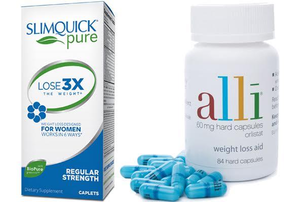 Slimquick vs Alli