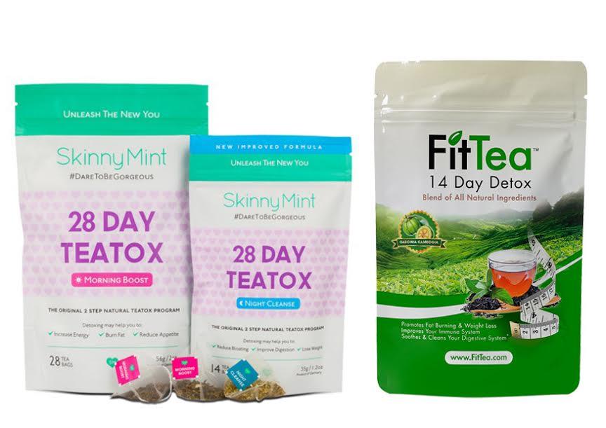 SkinnyMint vs Fit Tea