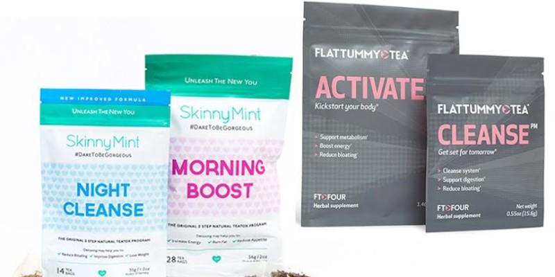 SkinnyMint vs Flat Tummy Tea
