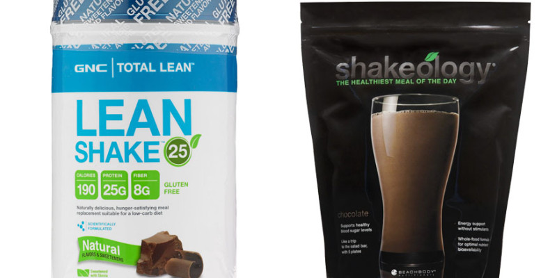 Lean Shake 25 vs Shakeology