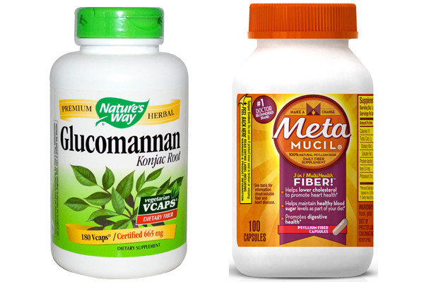 Glucomannan vs Metamucil 1
