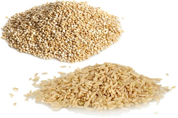 Quinoa vs Brown Rice 1