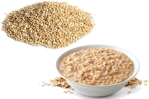 Quinoa vs Oatmeal 1