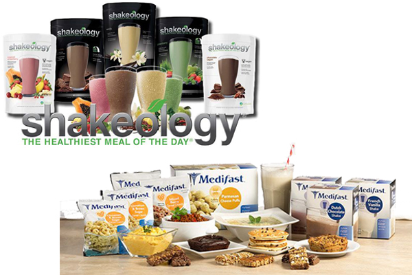 Shakeology vs Medifast 1