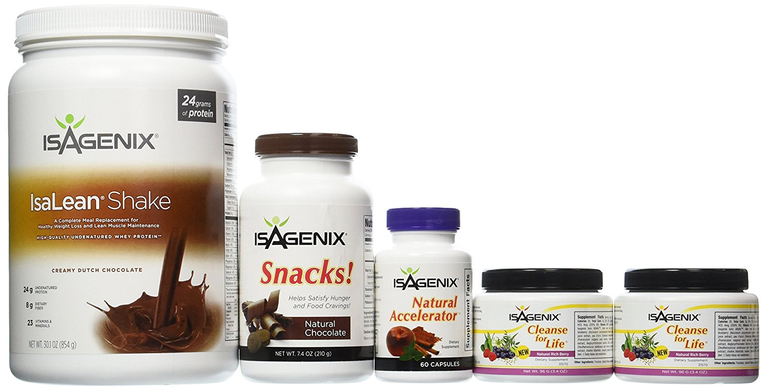 Isagenix vs Thrive 2