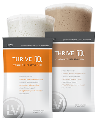 Isagenix vs Thrive 3