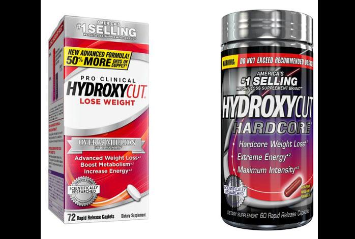 Hydroxycut vs Hydroxycut Hardcore