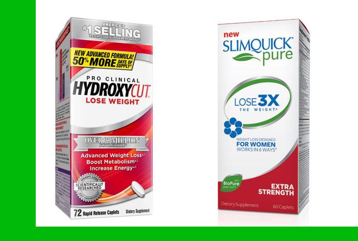 Hydroxycut vs Slimquick