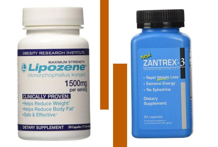 Lipozene vs Zantrex 3