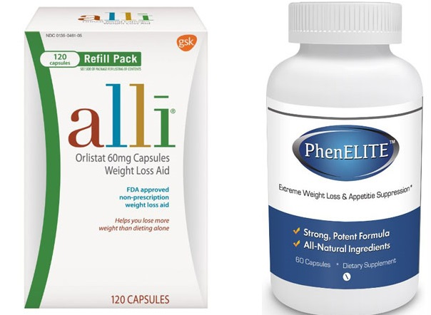 Orlistat vs Phentermine
