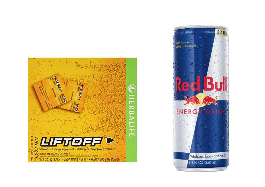 Herbalife Liftoff vs Red Bull