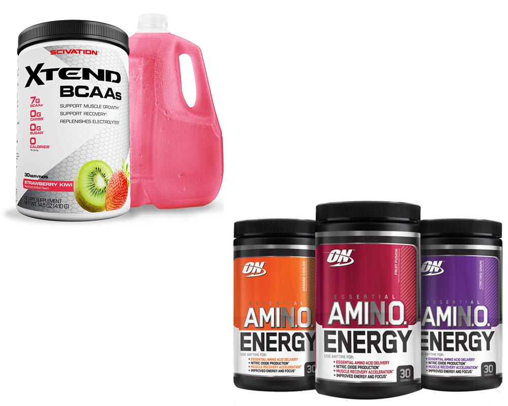 Scivation Xtend vs Amino Energy