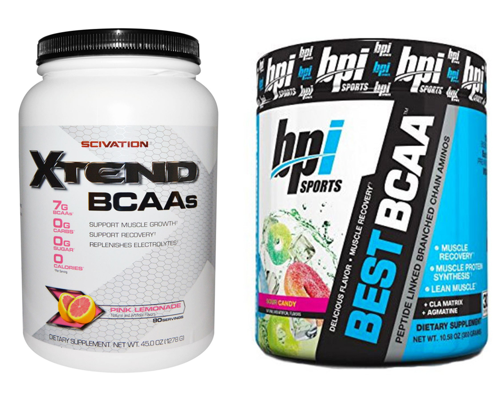 Scivation Xtend vs BPI BCAA