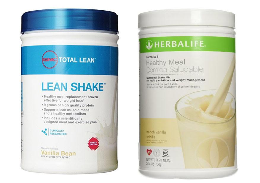 GNC Total Lean Shake vs Herbalife