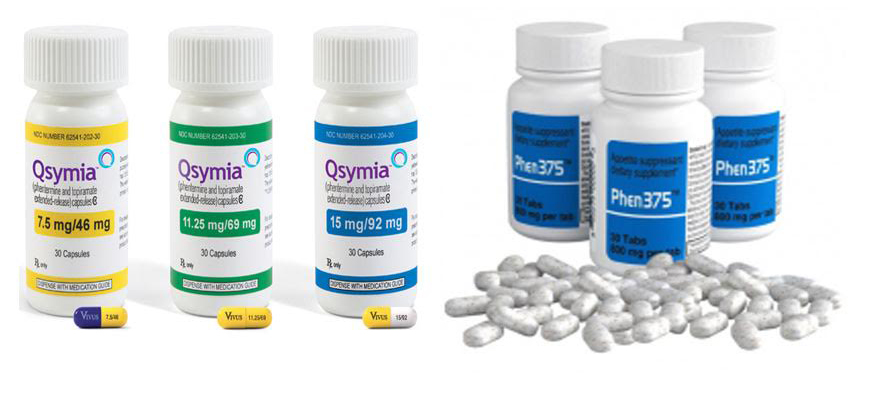 Qsymia vs Phentermine Alone