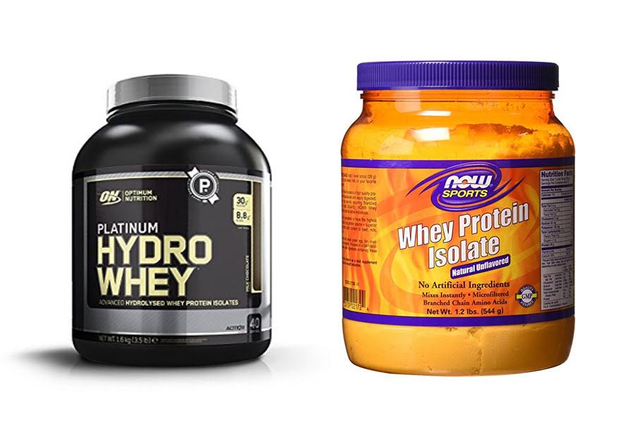 Whey Isolate vs Hydrolyzed Whey