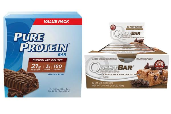 Pure Protein Bars vs Quest Bars