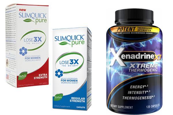 Slimquick vs Xenadrine