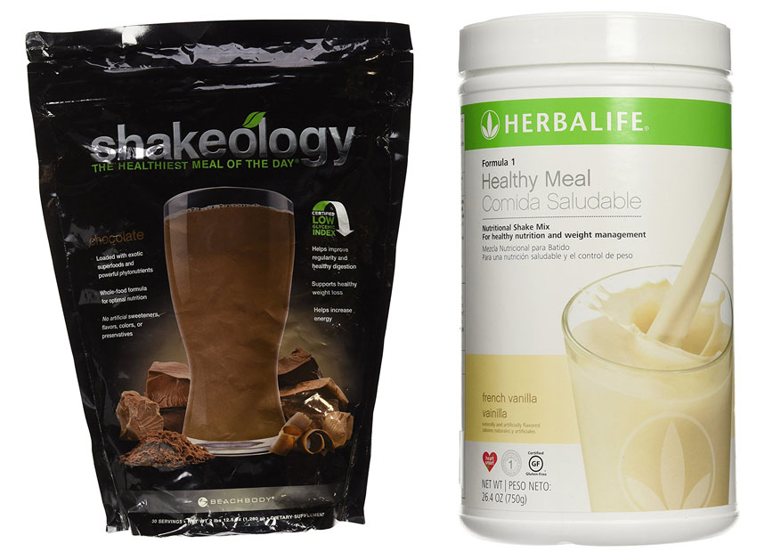 Shakeology vs Herbalife 1