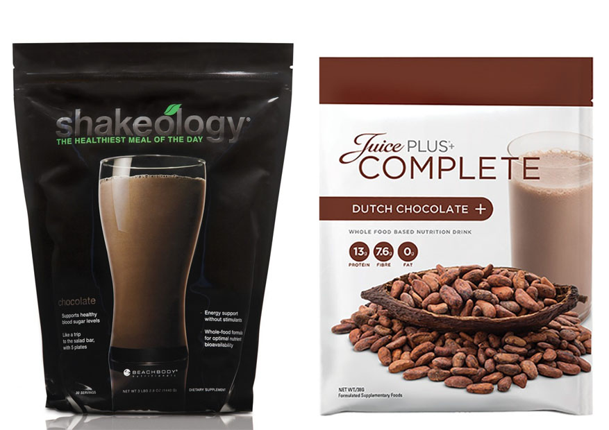 Shakeology vs Juice Plus 1