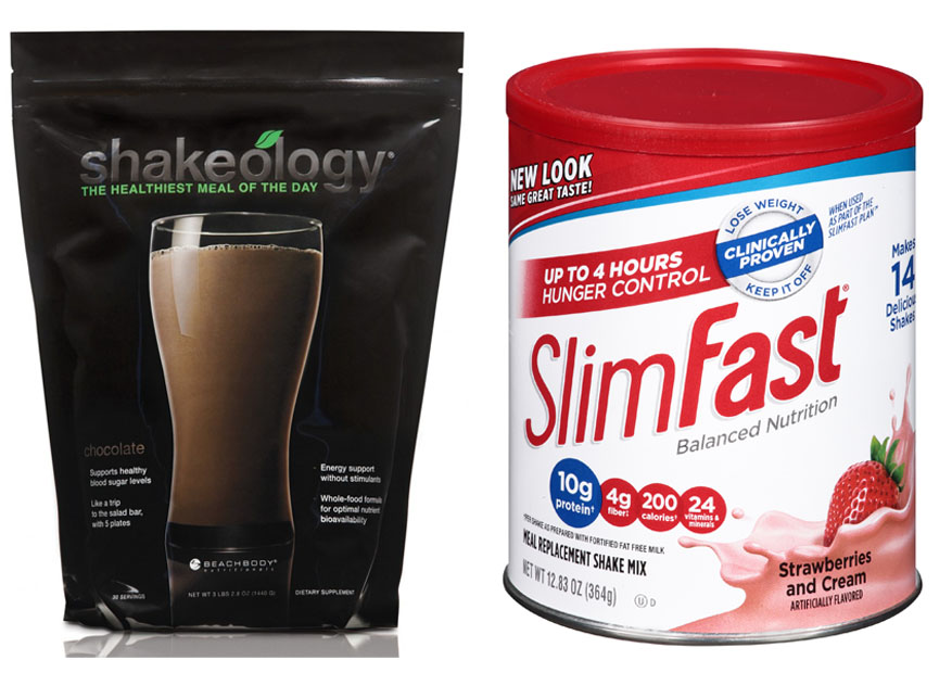 Shakeology vs Slim Fast 1